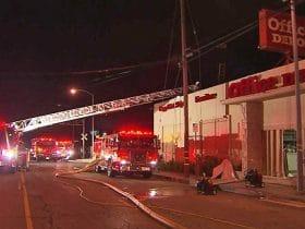 Office Depot Fire
