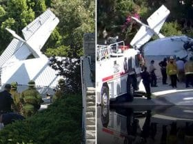 Santa Monica, Airplane Crash